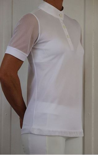 Picture of Short Sleeve Competition Shirt with Mesh Sleeves
