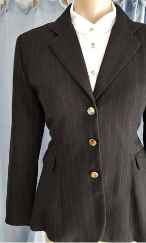 Picture of Brown pinstripe jacket